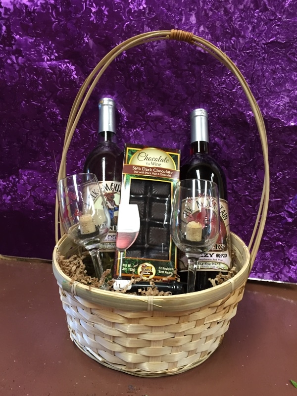 Example of gift basket.