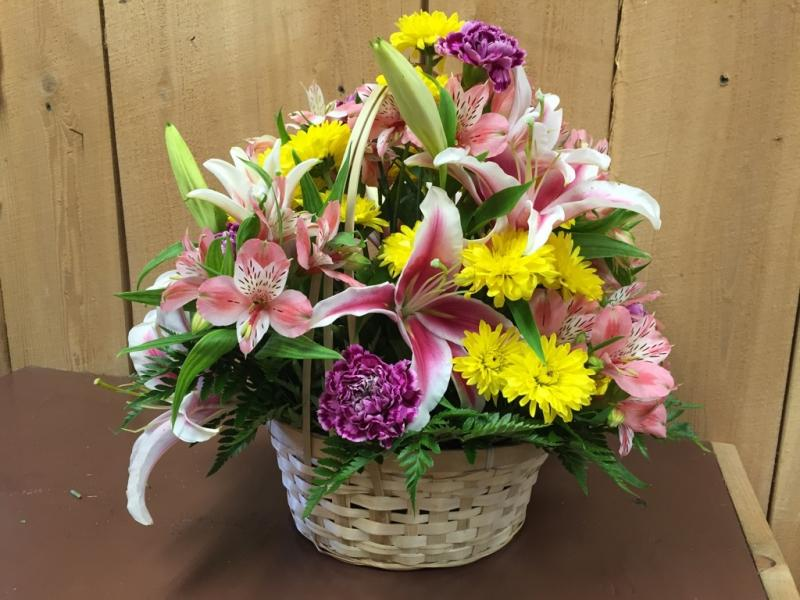 Example of flower basket!