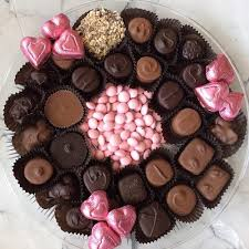 Chocolate Candy Tray